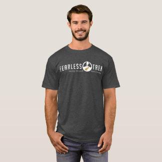 T-shirt courageux original de voyage