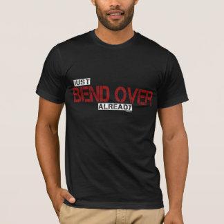 T-shirt Courbure au-dessus de Drk
