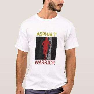 T-shirt Coureur de guerrier d'asphalte d'homme
