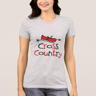 T-shirt Coureur de pays croisé