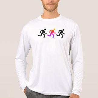 T-shirt Coureur solo de centre de détection et de contrôle