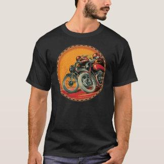 T-shirt coureurs vintages de moto