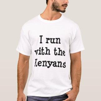 T-shirt Courez avec des Kenyans