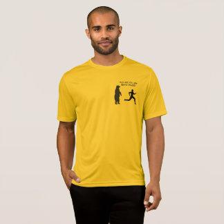 T-shirt Courez comme vous sont chassés