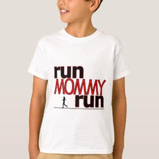 T-shirt Courez la course de maman