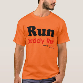 T-shirt Courez la course de papa