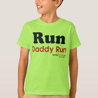 T-shirt Courez le papa couru - courez pour Sam