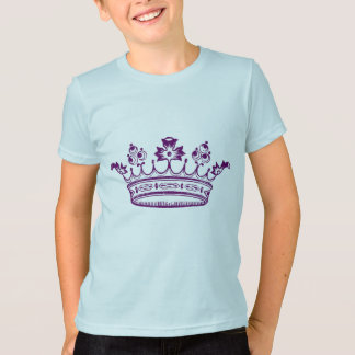 T-shirt Couronne de pourpre royal