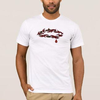 T-shirt Couronne des épines blanches
