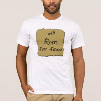 T-shirt Courra pour la nourriture