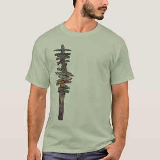 T-shirt Courrier de signe de Key West