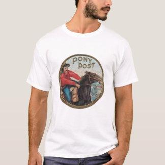 T-shirt Courrier T organique de poney