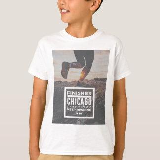T-shirt Course courante courue par finisseur de marathon