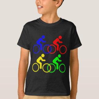 T-shirt Course de bicyclette