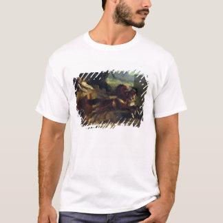 T-shirt Course de char antique