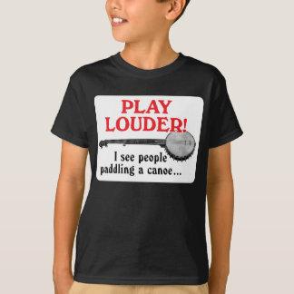 T-shirt court foncé de la douille de l'enfant plus