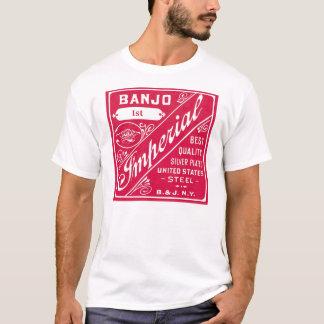T-shirt court léger de la douille des hommes