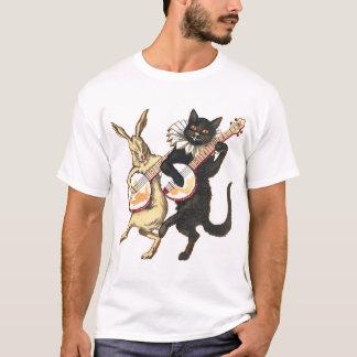 T-shirt court léger de la douille des hommes de