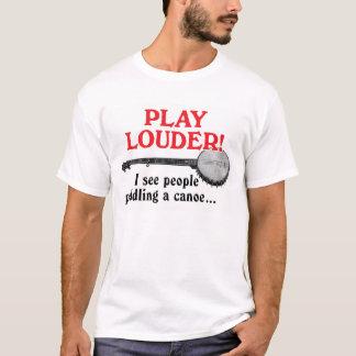 T-shirt court léger de la douille des hommes plus