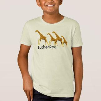 """T-Shirt Cous de Luther rouges """"longs """""""
