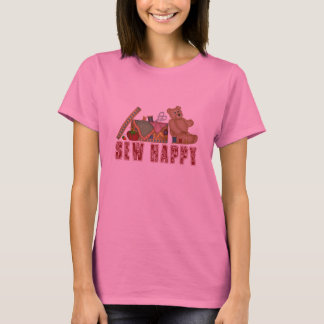 T-shirt Cousez heureux