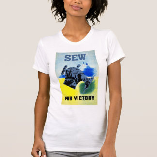 T-shirt Cousez ou victoire