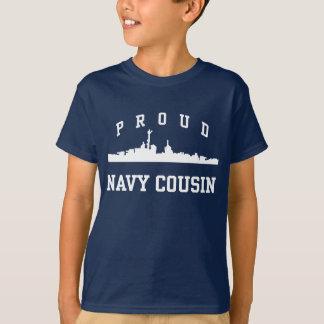 T-shirt Cousin de marine