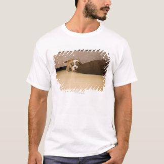 T-shirt Coussin acéré de chiot anglais de bouledogue