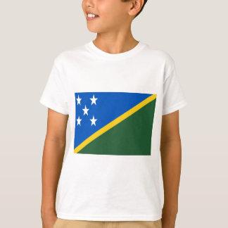 T-shirt Coût bas ! Drapeau d'îles Salomon