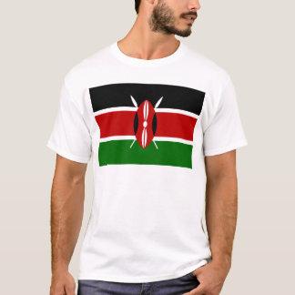 T-shirt Coût bas ! Drapeau du Kenya