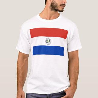 T-shirt Coût bas ! Drapeau du Paraguay