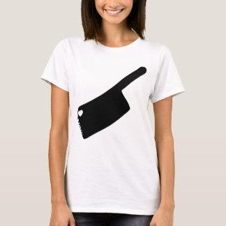 T-shirt Couteau de boucher de coeur