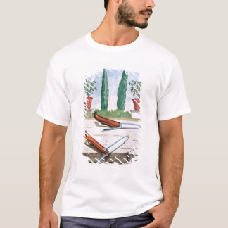 """T-shirt Couteau de jardinage, de """"Hesperides"""" par la batte"""