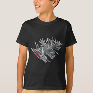 T-shirt Couteau militaire suisse superbe