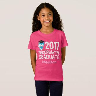 T-Shirt Coutume 2017 mignonne d'obtention du diplôme de