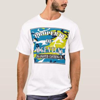 T-shirt coutume de l'Argentine