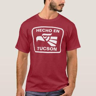 T-shirt Coutume de personalizado d'en Tucson de Hecho