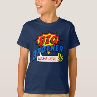 T-shirt Coutume de super héros de frère