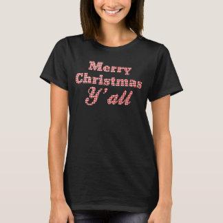 T-shirt Coutume du sud de pied-de-poule de salutation de