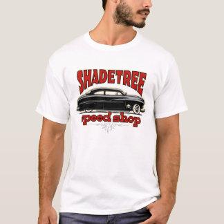 T-shirt Coutume Mercury de magasin de vitesse d'arbre