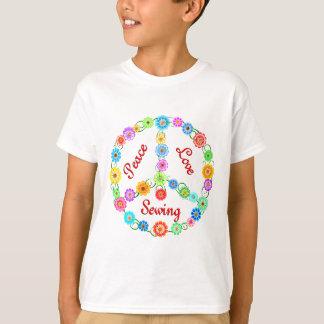 T-shirt Couture d'amour de paix