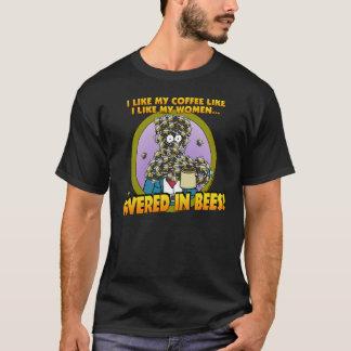 T-shirt Couvert dans la chemise 1 d'abeilles
