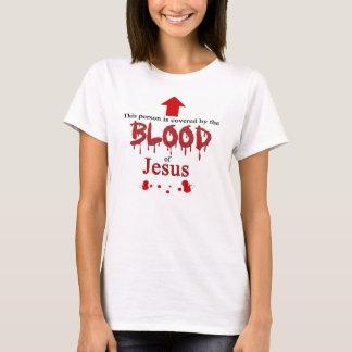 T-shirt Couvert par le sang de Jésus