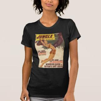 T-shirt Couverture 1947 de pulpe d'histoires de jungle -