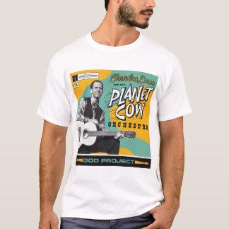 T-shirt Couverture d'album de projet de Dieu