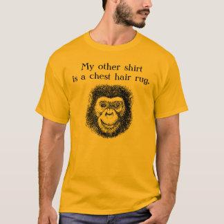 T-shirt couverture de cheveux de coffre