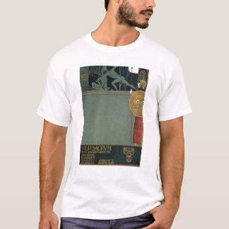 T-shirt Couverture de sacrum de Ver le journal du