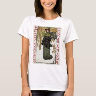 T-shirt Couverture vintage 1895 de Nouveau Scribners d'art