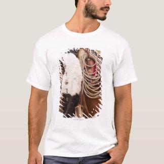 T-shirt Cow-girl sur le cheval