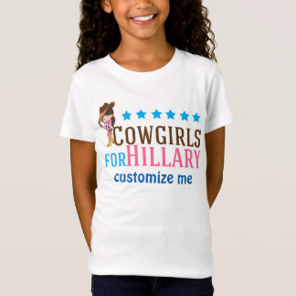 T-Shirt Cow-girls pour Hillary
